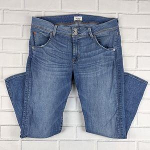 HUDSON Sz 30 Collin Flap Pocket Skinny Crop Jeans